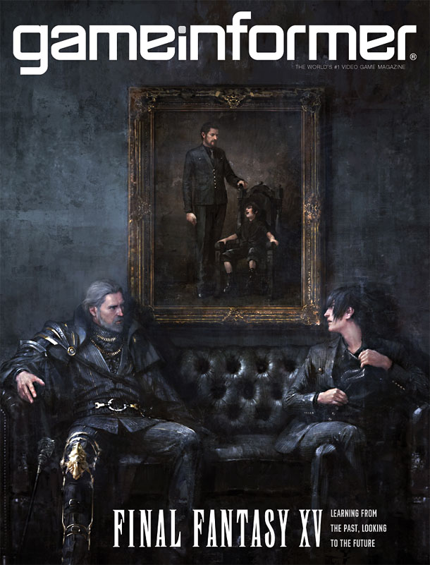 final fantasy 15 game informer cover