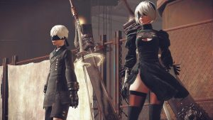 NieR Automata New Gameplay Footage Showcases The Game's RPG Elements