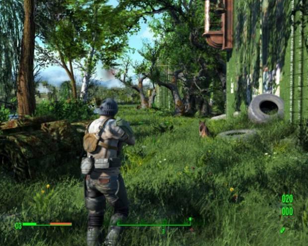 Fallout 4 green