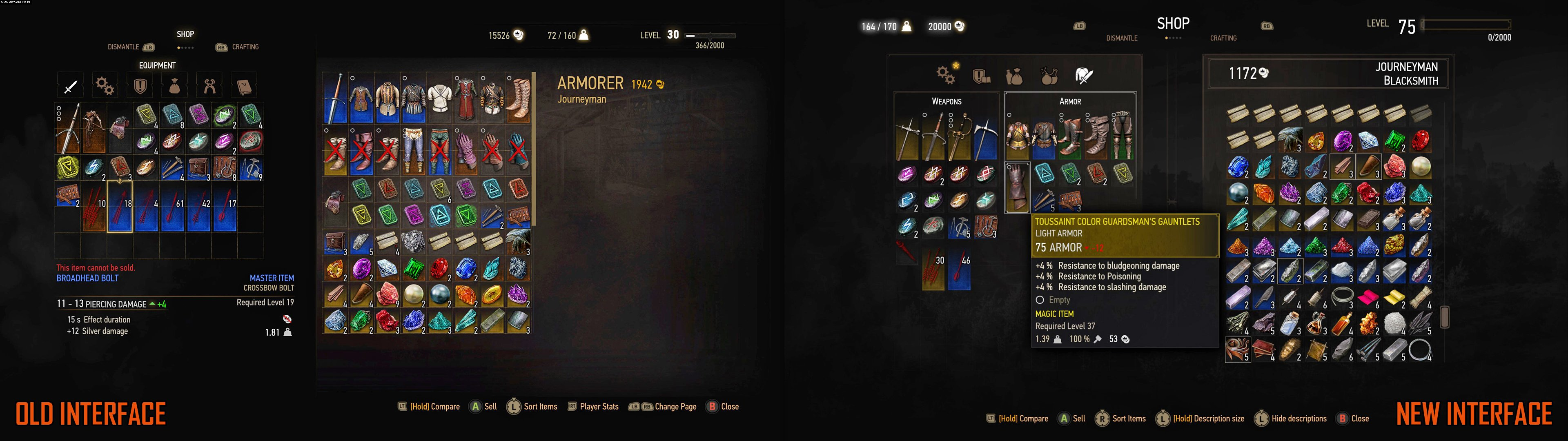 The Witcher 3: Blood and Wine Will Overhaul Game's Interface
