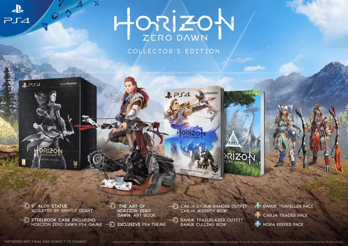 horizon collector's edition