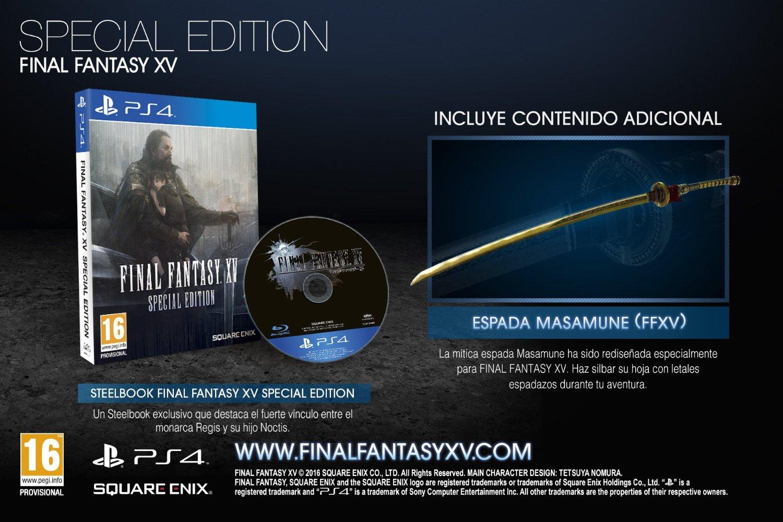 Final Fantasy 15 European Box Art Revealed