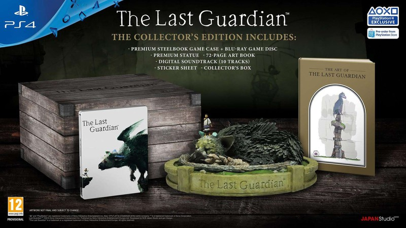 last guardian collector's edition
