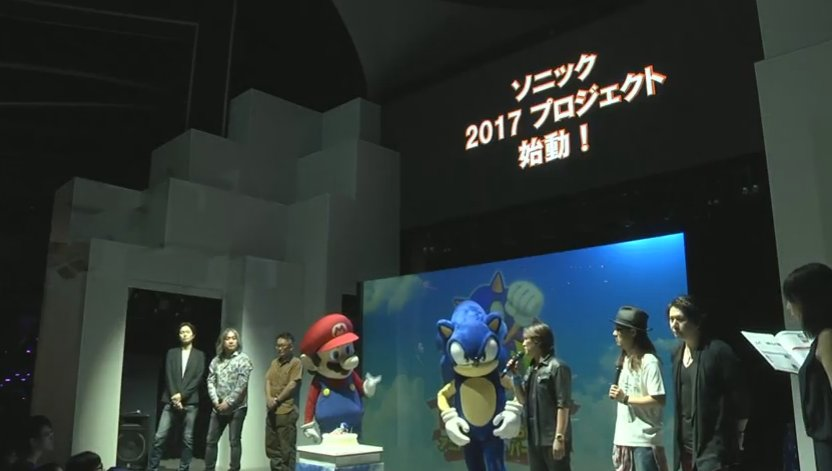 sonic 25th anniversary event