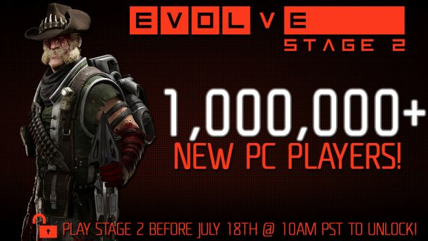 Evolve's Free-to-Play Move Brings in 1 Million Players