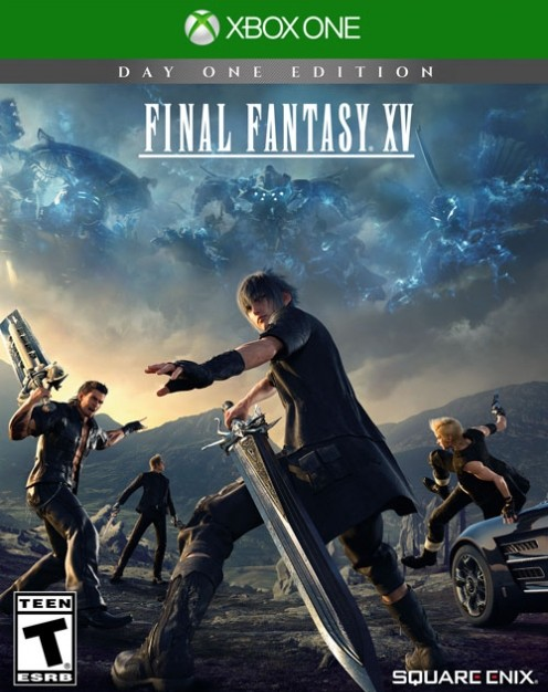 final fantasy 15 xbox one box art