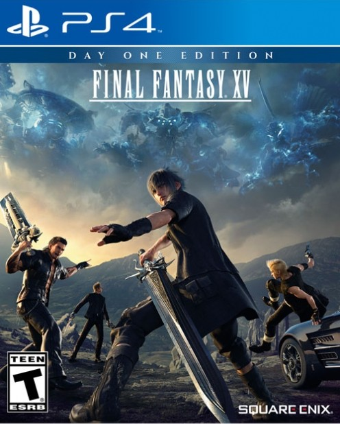 final fantasy 15 ps4 box art