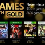 Xbox Live Games With Gold for August: WWE 2K16, Spelunky, Beyond Good & Evil HD