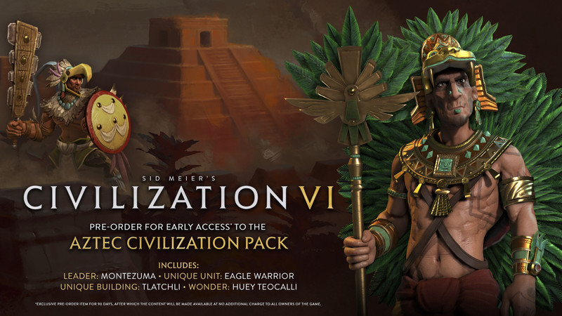 civilization 6 aztecs
