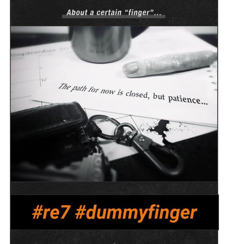 finger resident evil 7