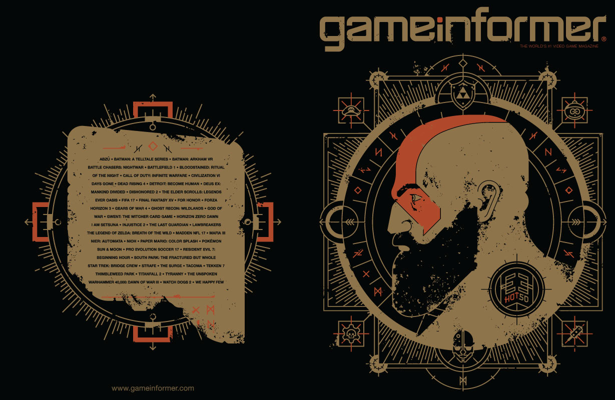 god of war game informer