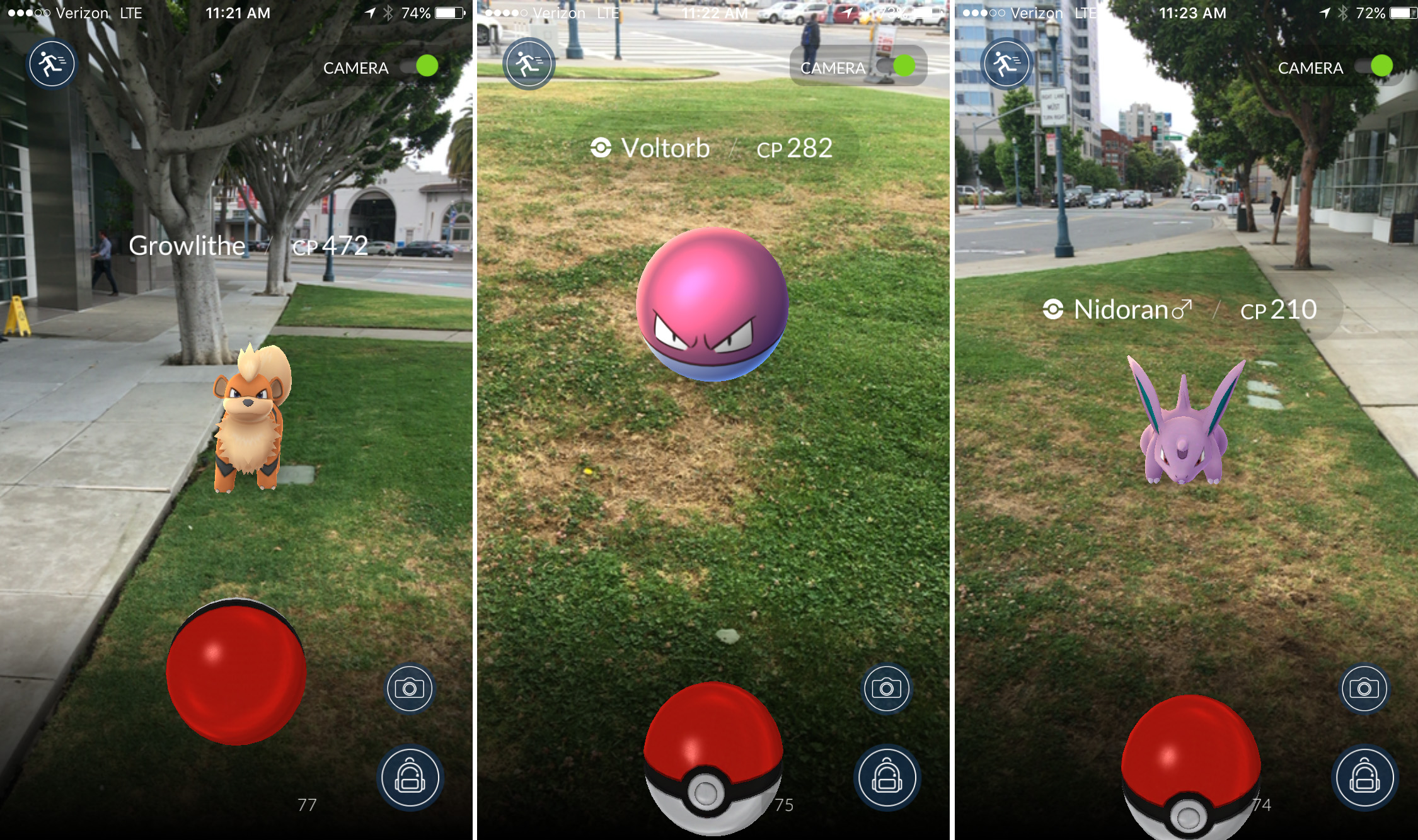 pokemon go ar on