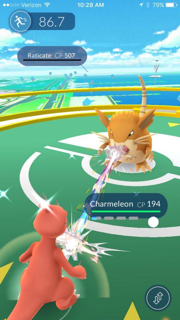 pokemon go gym