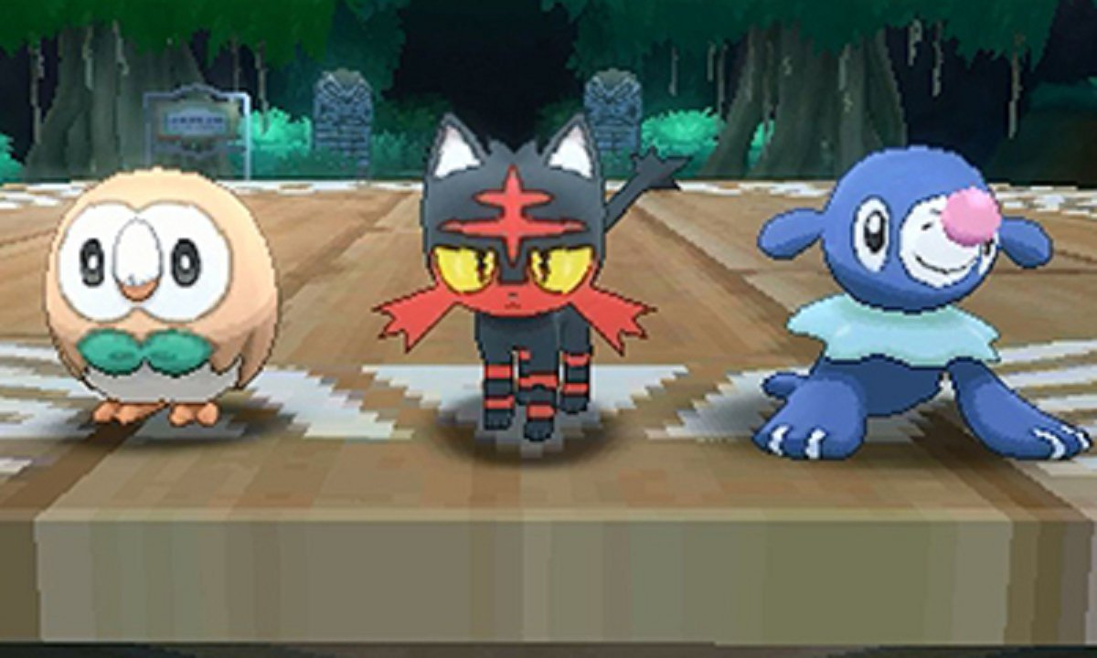 pokemon sun and moon screenshots pop up on amazon japan