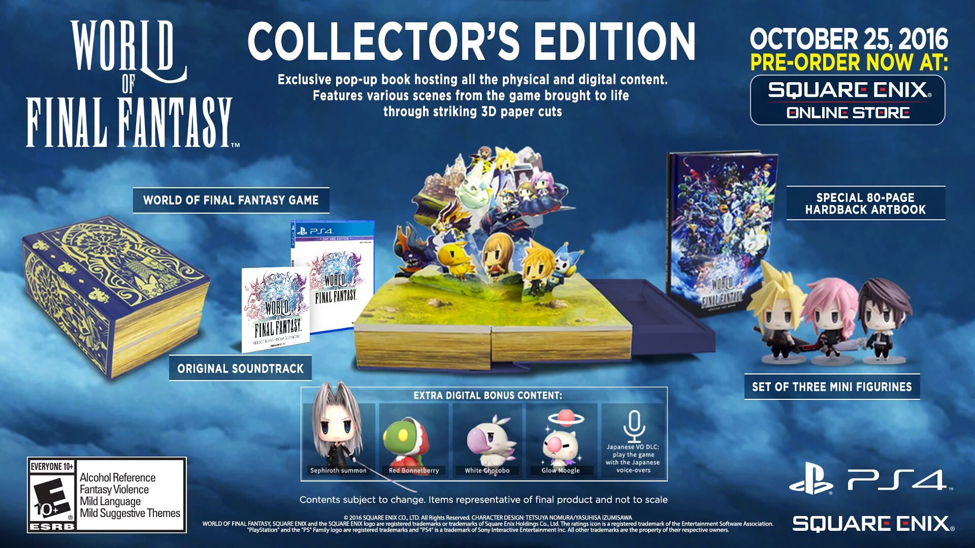 world of final fantasy gets new trailer limited and day one editions announced. Black Bedroom Furniture Sets. Home Design Ideas