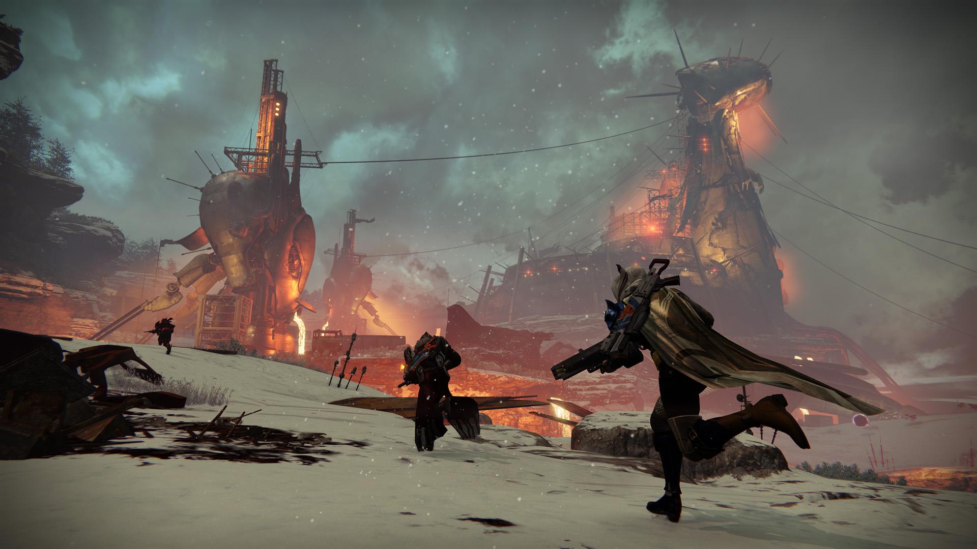 destiny hotfix fixes winter s run skeleton key drops vanguard loot