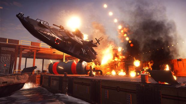 Just Cause 3_Bavarium Sea Heist