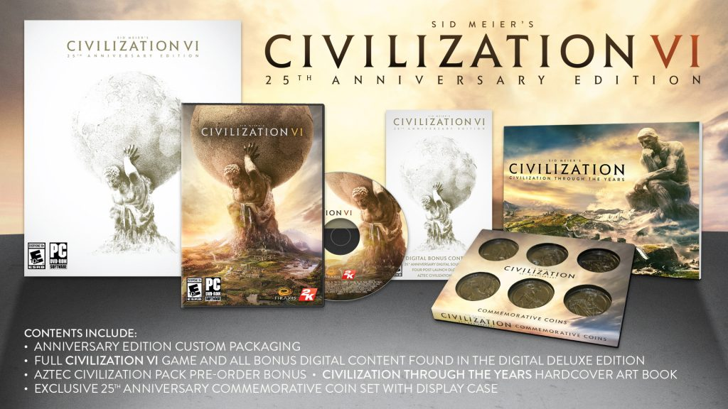 civilization 6 25th anniversary edition