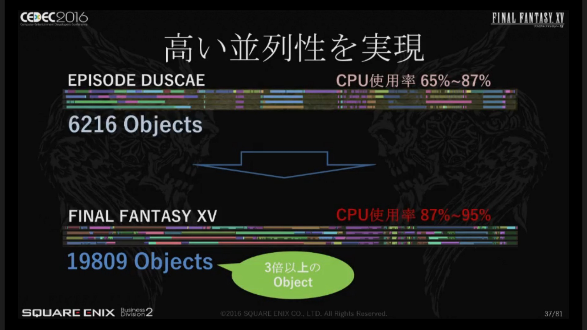 final fantasy 15 visual effects and objects