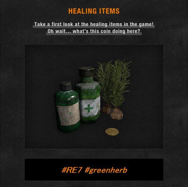 resident evil 7 healing