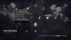Destiny Private Matches Now Available on PS4 and Xbox one