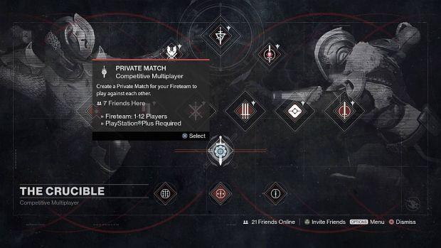destiny-private-matches