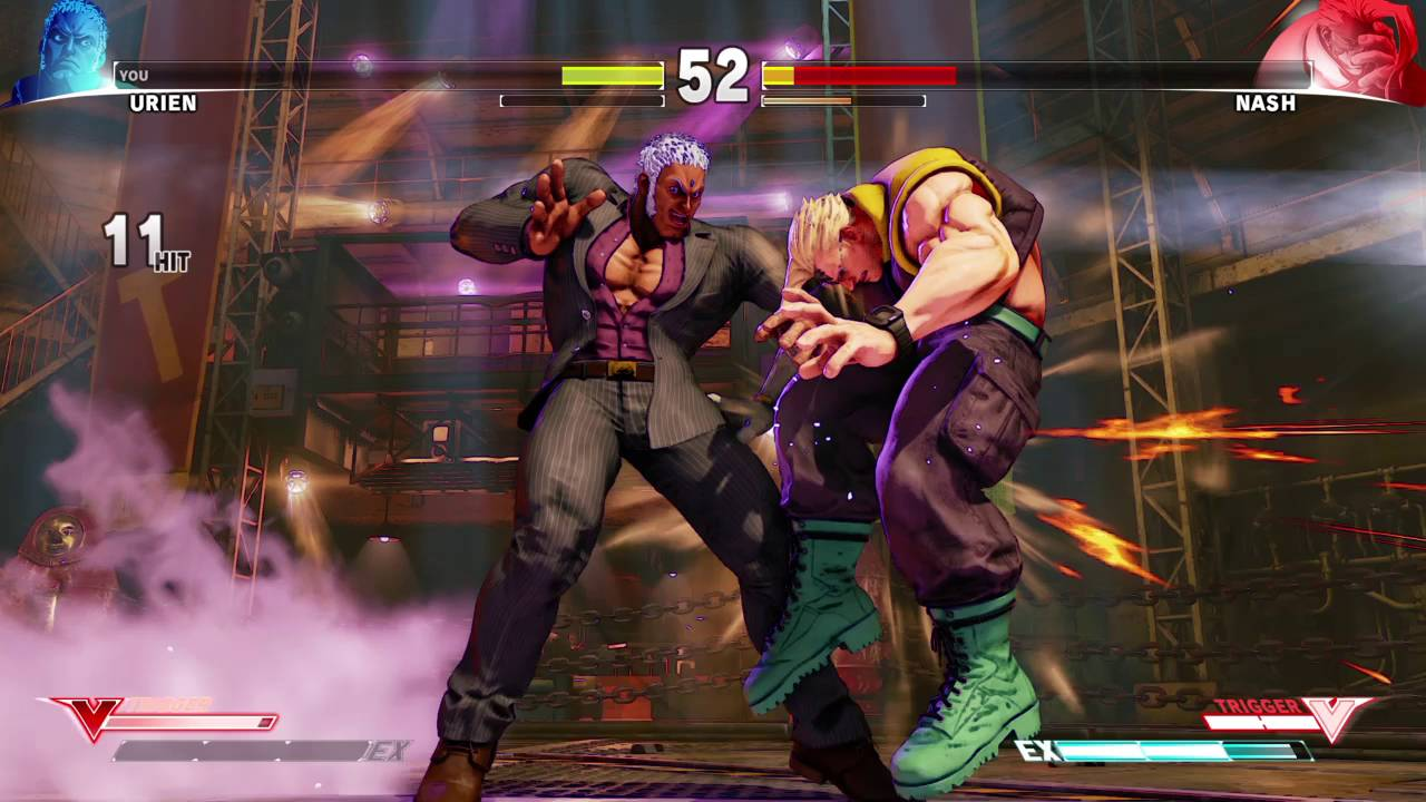 Street Fighter 5_Urien
