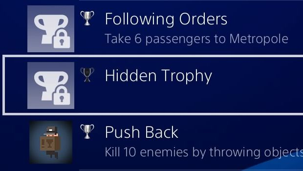 ps4 hidden trophies