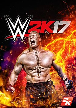 WWE 2K17 Box Art
