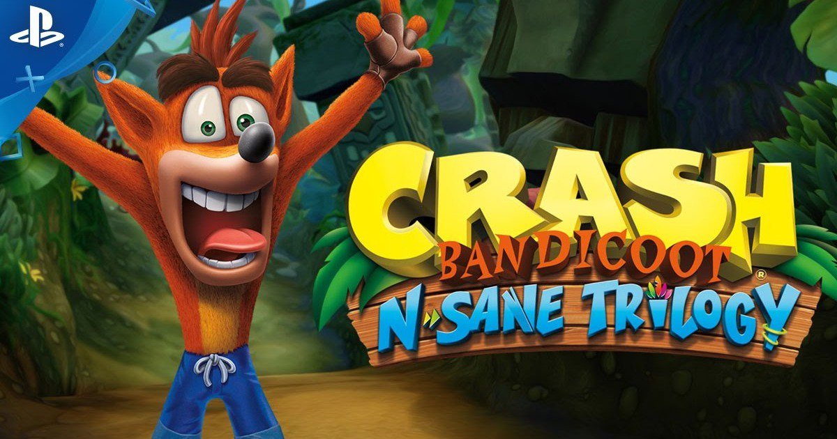 Crash Bandicoot N-Sane Trilogy Trailer Contains Remastered Goodness