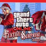 GTA Online's Festive Surprise Event Now Live