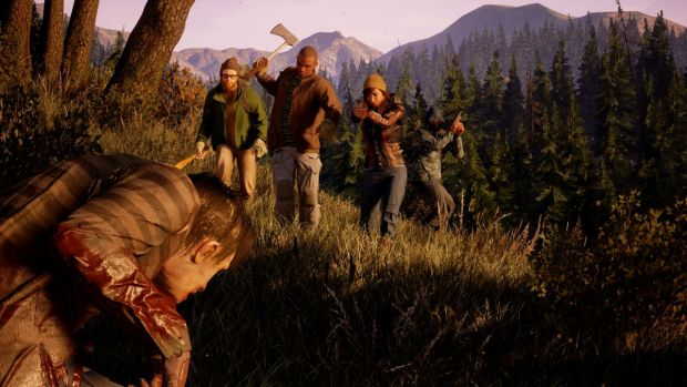 """State of Decay 2 Has Three Maps, Each """"Roughly The Size of ... on destiny map size, red dead redemption map size, tomb raider map size, grand theft auto iv map size, sunset overdrive map size, forza horizon 2 map size, star citizen map size, just cause 3 map size, x rebirth map size, unturned map size, minecraft map size, the witcher map size, wasteland 2 map size, rage map size, deadlight map size, h1z1 map size, game of thrones map size, 7 days to die map size, open world map size, the forest map size,"""