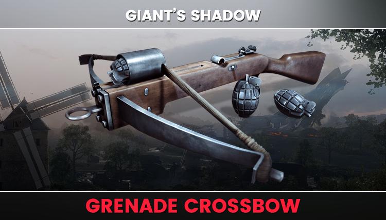 grenade crossbow