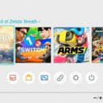 Nintendo Switch's Snazzy Minimalistic UI Revealed