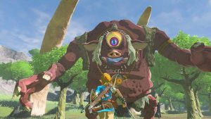 The Legend of Zelda: Breath of the Wild New Video Shows Two Of Its Most Terrifying Enemies Fight Take On Each Other