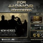 For Honor Season Pass Allows Early Access to New Heroes, Various Cosmetics
