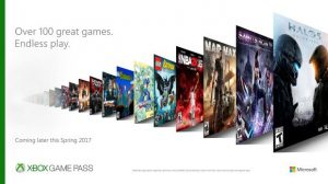 Xbox Game Pass Announced, $9.99 Offers Over 100 Titles
