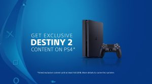 Destiny 2 Features PS4 Exclusive Content Till Fall 2018