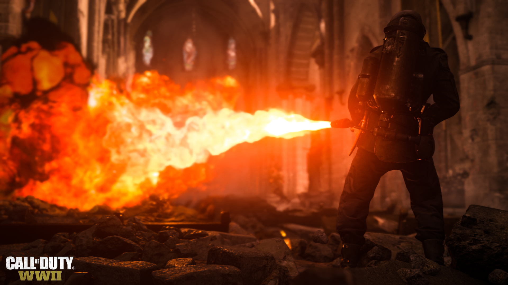 Call of Duty WWII PS4 Pro Runs In Dynamic Resolution From 1440×1620