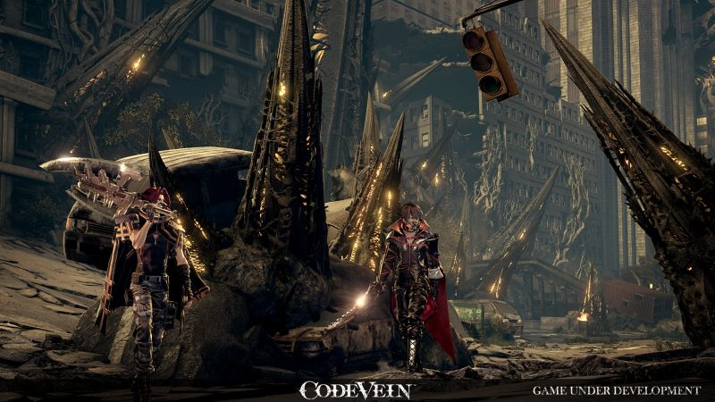 Anime RPG Code Vein gets an E3 trailer