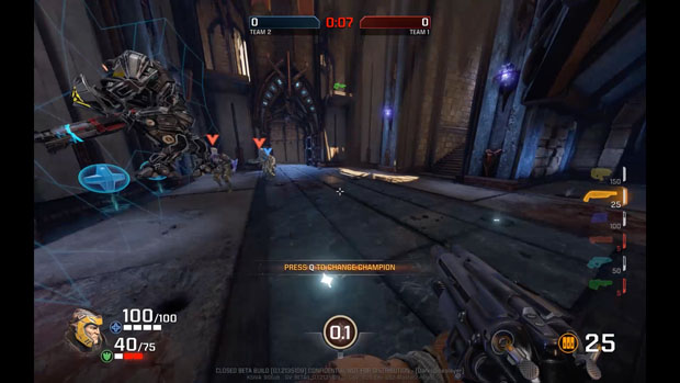 Quake Champions Closed Beta Preview – A Fine DOOM Aftershock
