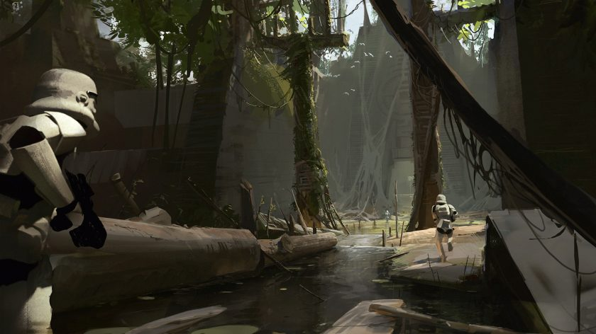 star wars battlefront 2 gets some striking concept art showcasing jakku death star and more. Black Bedroom Furniture Sets. Home Design Ideas