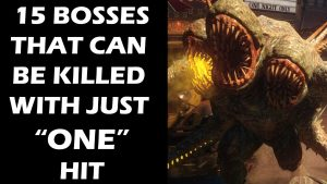 15 Video Game Bosses That Can Be Killed With Just One Hit