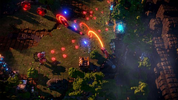 Nex Machina launches June 20, adds local co-op