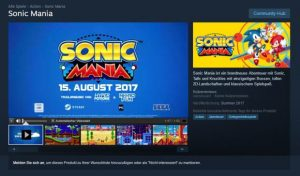Sonic Mania Release Date Leaked, Out on August 15th – Rumour