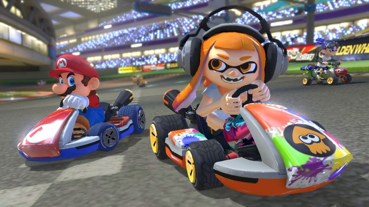 Mario Kart 8 Deluxe Tops UK Game Sales Charts