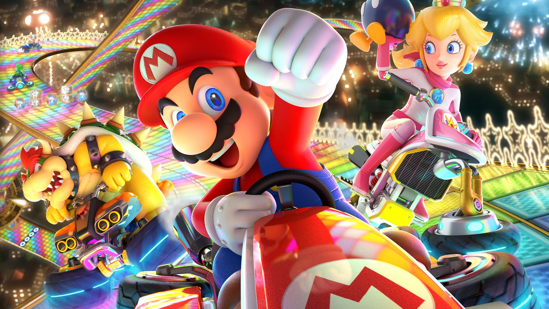 Mario Kart 8 Deluxe fends off Prey in UK Charts