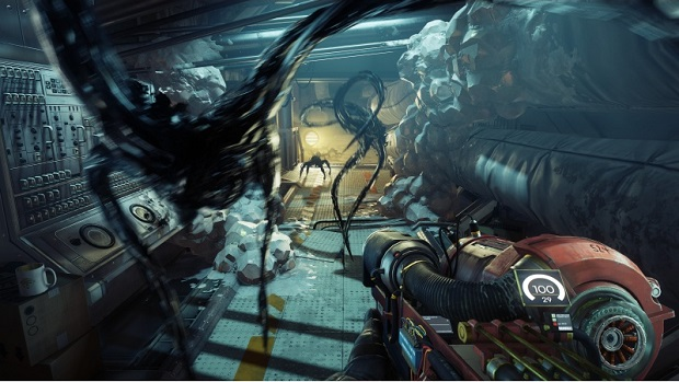 Horror Games For Xbox 1 : Prey renders at 1440p on xbox one x