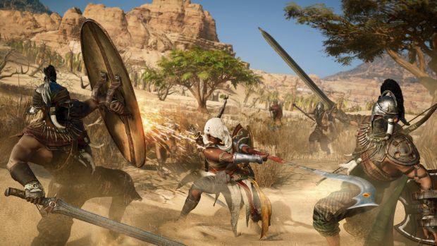 Assassin S Creed Origins Gameplay Trailer Showcases Impressive