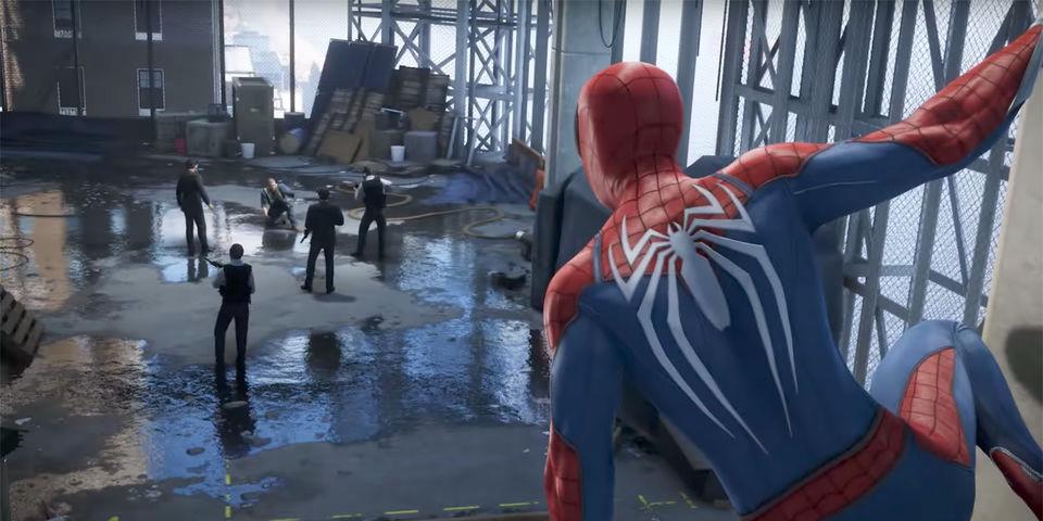 Resultado de imagen para spider man ps4 insomniac